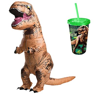 Amazon.com: Jurassic World Park adulto inflable T-Rex ...