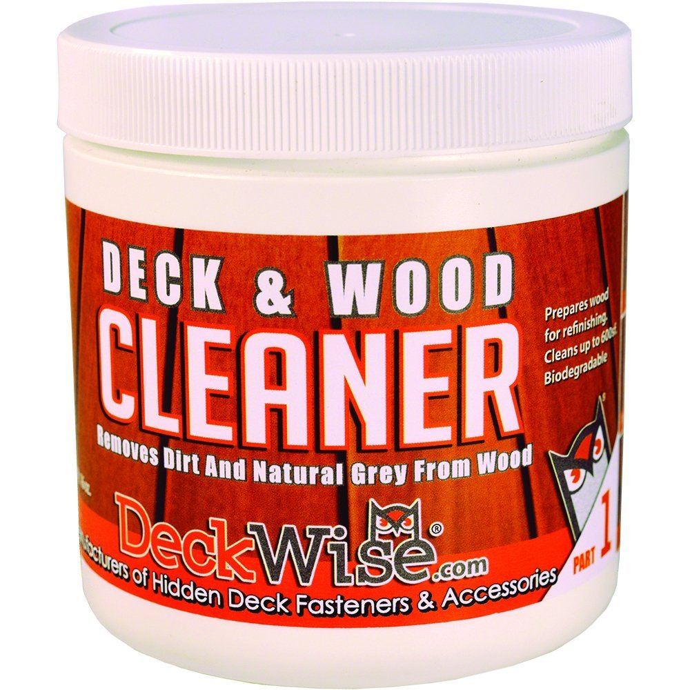 DeckWise Deck & Wood Cleaner - Part 1-16 oz. for 600 Sq. Ft. of Decking