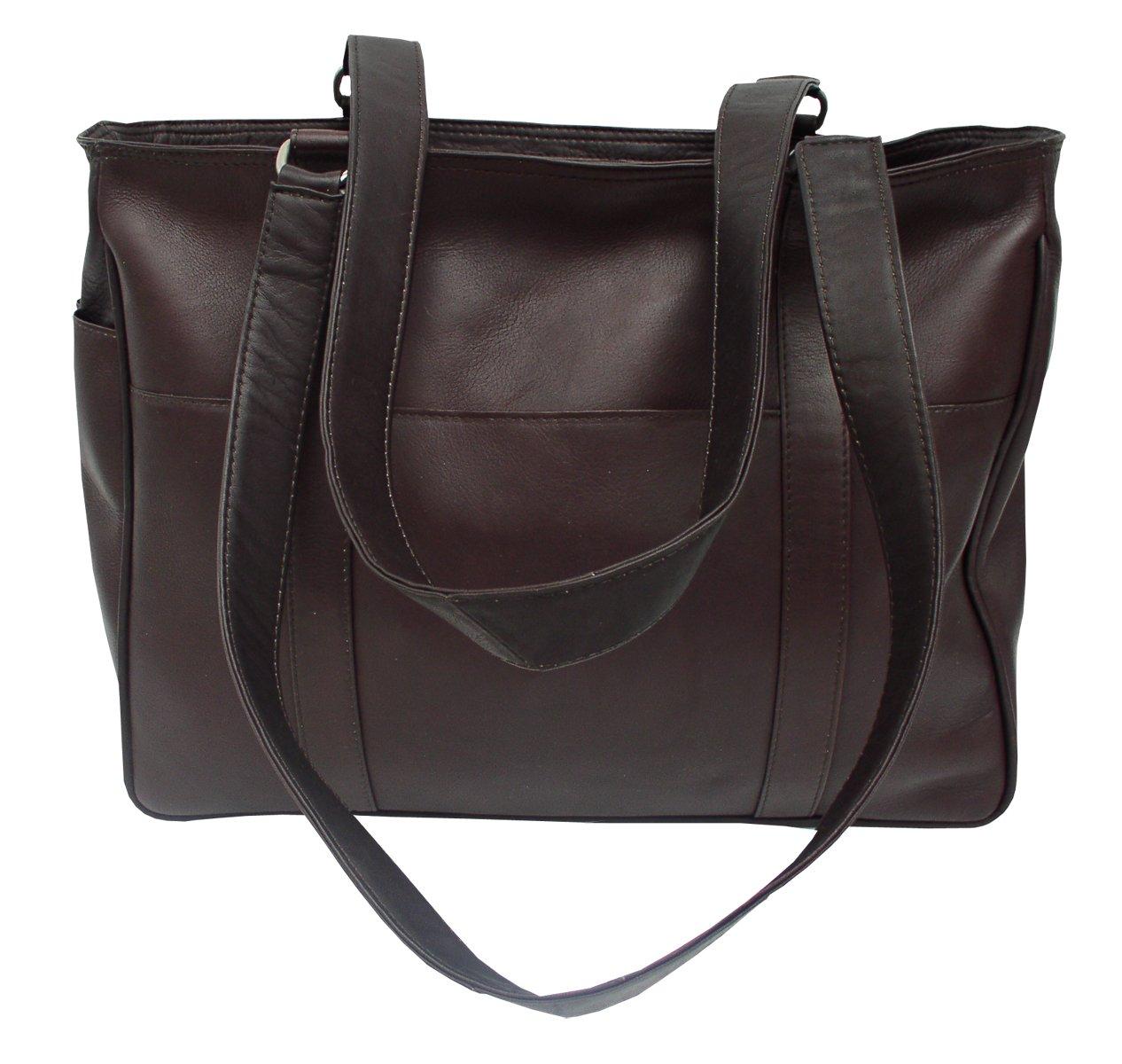 6446b594ff Amazon.com  Piel Leather Small Shopping Bag