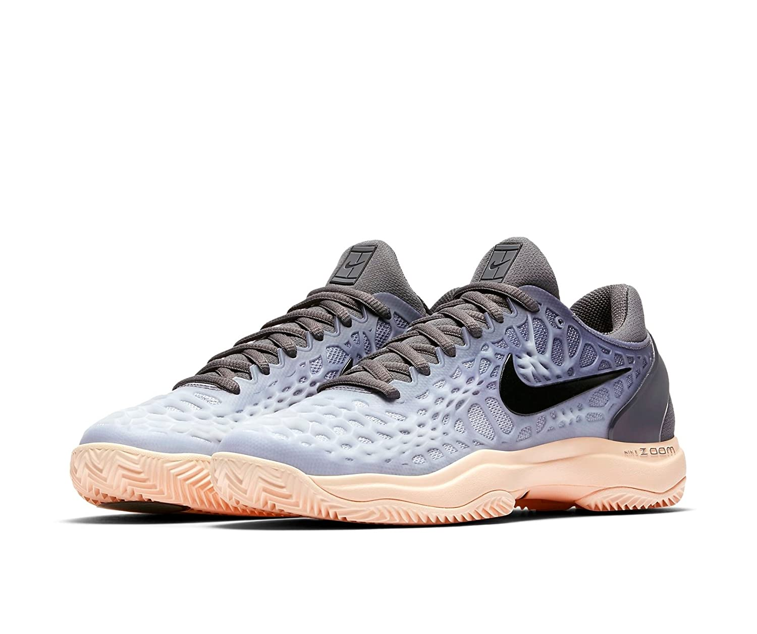 low priced c5a21 fff28 Nike - Zoom Cage 3 Clay Ladies Tennis Shoes, Grey Amazon.co.uk Sports   Outdoors