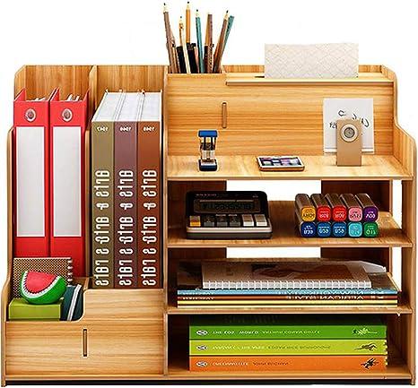 Catekro Caja de almacenamiento de escritorio de gran capacidad ...