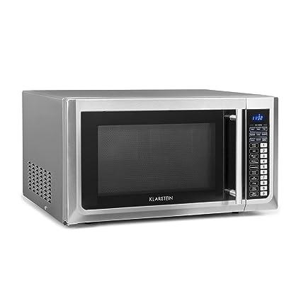 Klarstein Brilliance Pro 43 • Microondas 1000 W • Función grill 1250 W • Convección 2150 W • 43 L de volumen • 9 programas • Panel táctil • 20 kg • Incluye ...
