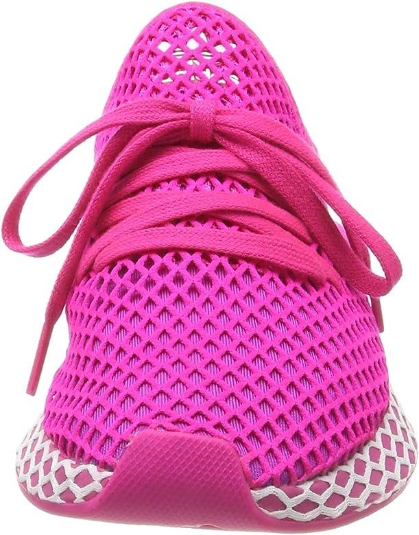 adidas Deerupt Runner W Zapatillas de Running Mujer, Rosa (Shock Pink/Vivid Pink/Ftwr White Shock Pink/Vivid Pink/Ftwr White), 40 EU: Amazon.es: Zapatos y complementos