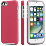 iPhone 6 / 6s Case, ImpactStrong Dual Guard Protection Shock-Absorbing Scratch-Resistant Protective Cover for Apple iPhone 6 6s (4.7 Inch) - Italian Rose Pink