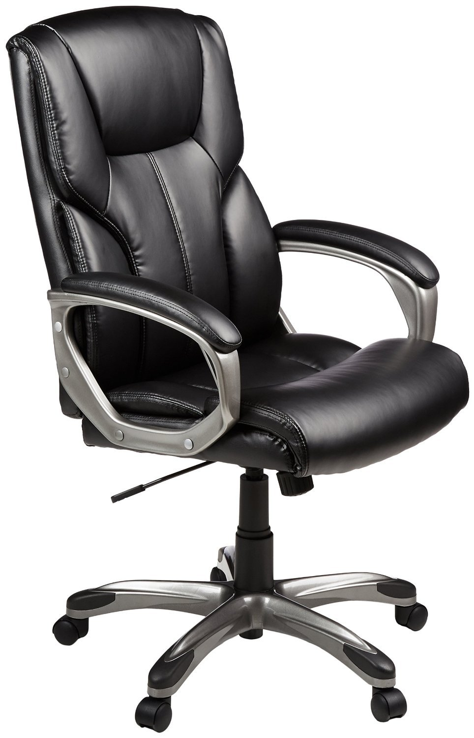 cheap office chairs amazon. AmazonBasics High-Back Executive Chair - Black Cheap Office Chairs Amazon .