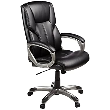 AmazonBasics High-Back Executive Chair - Black