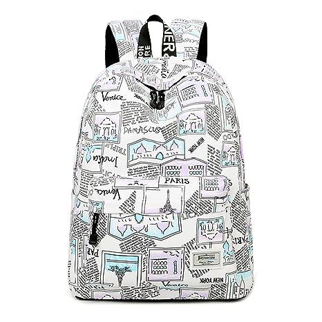7870b44dc36 ... newest 309a6 299fd Joymoze Lightweight Fashion Print 14inch Laptop School  Backpack for Teen Girls and Boys ...