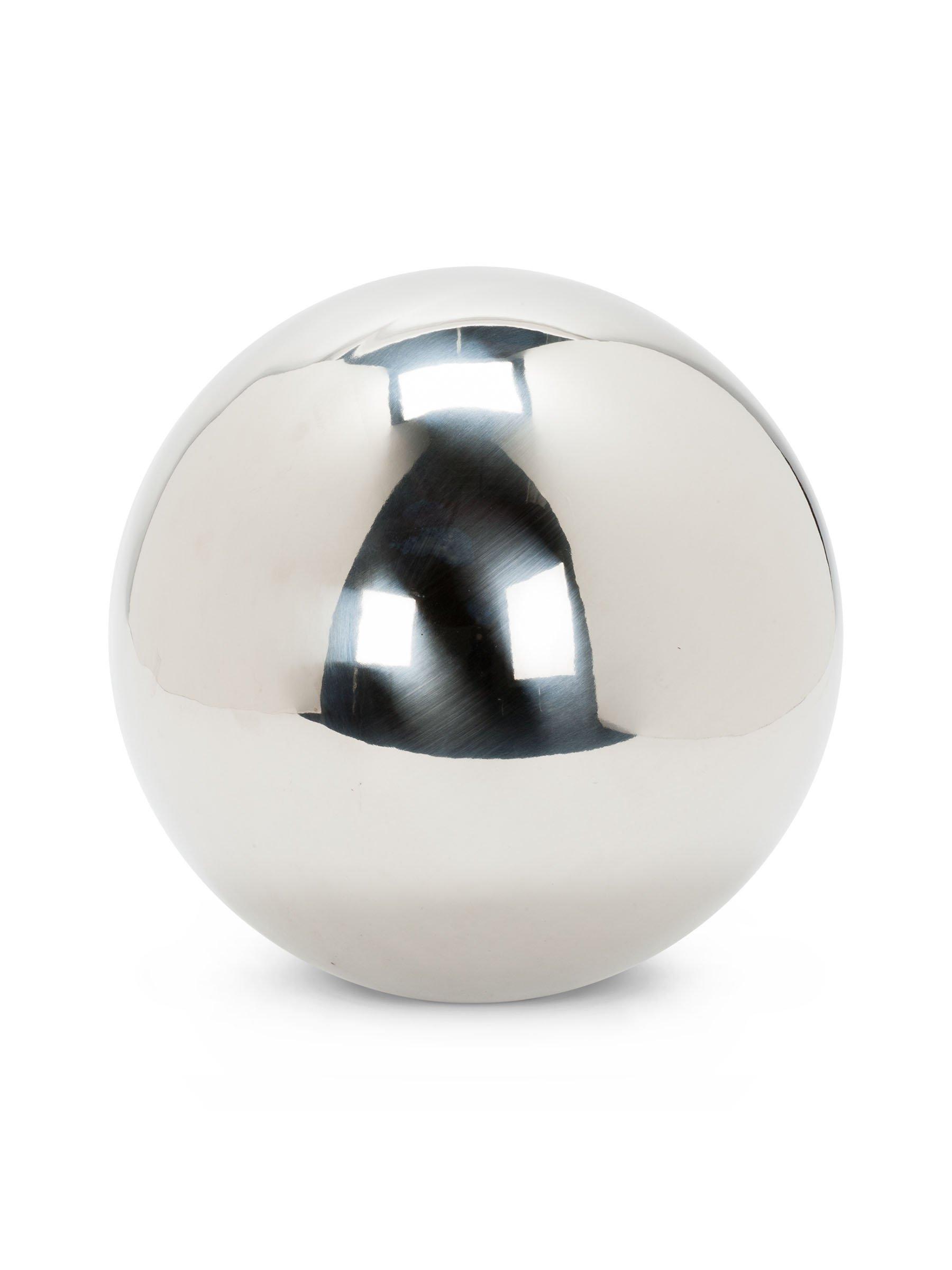 Abbott Collection Garden Gazing Ball, Silver (Extra Large)