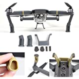 FSL DJI Mavic Pro Landing Gear Leg Height Extender Kit Riser Set Stabilizers with Protection Pad (Grey)