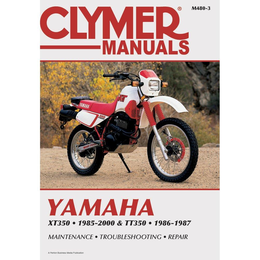 1985-2000 CLYMER YAMAHA XT350 & 1986-1987 TT350 SERVICE MANUAL NEW M480-3:  Manufacturer: Amazon.com: Books