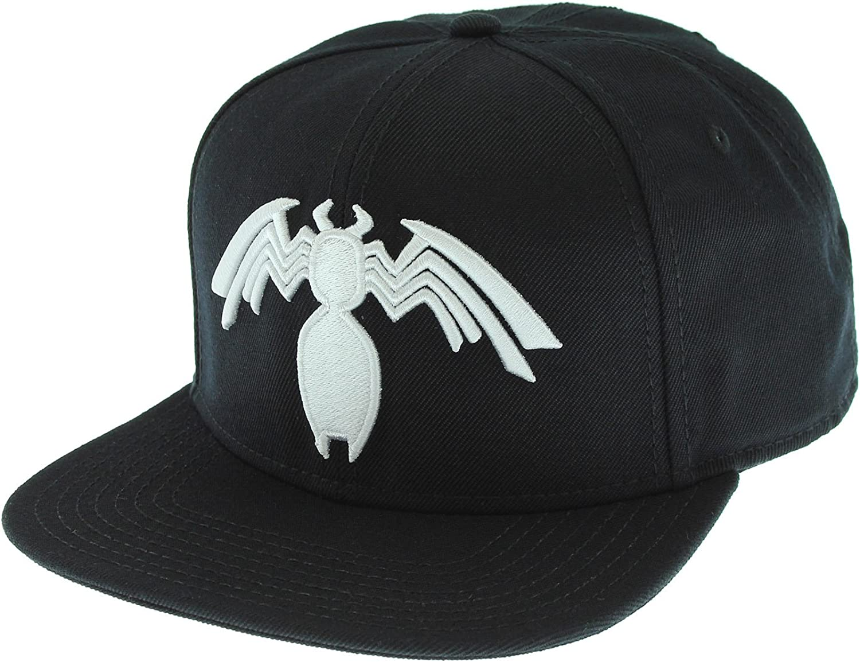 Marvel Spider-Man Venom Snapback Cap Black