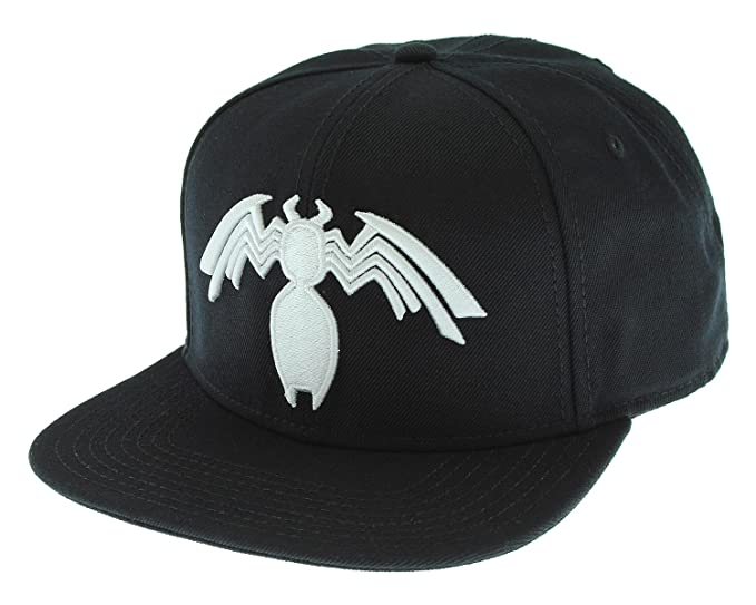 Image Unavailable. Image not available for. Color  Marvel Comics Venom  Symbiote Logo Licensed Adjustable Snapback Cap ... e9a607fdeecb