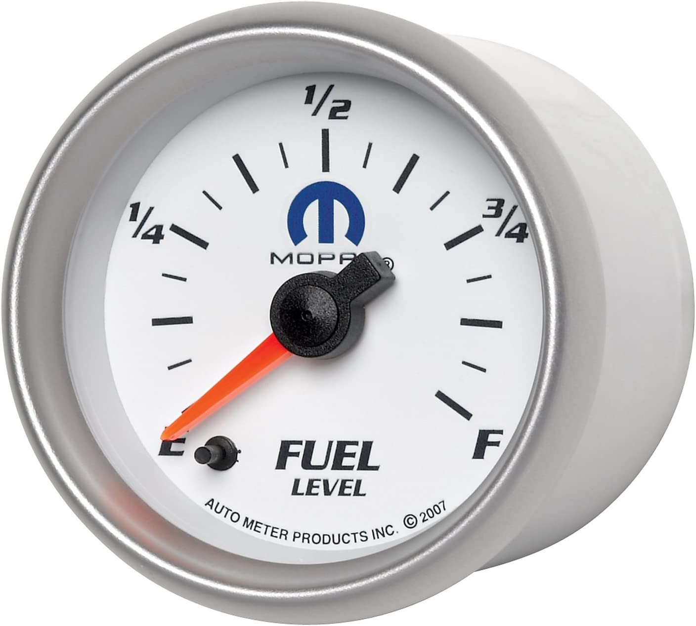 Auto Meter 880027 MOPAR Electric Programmable Fuel Level Gauge