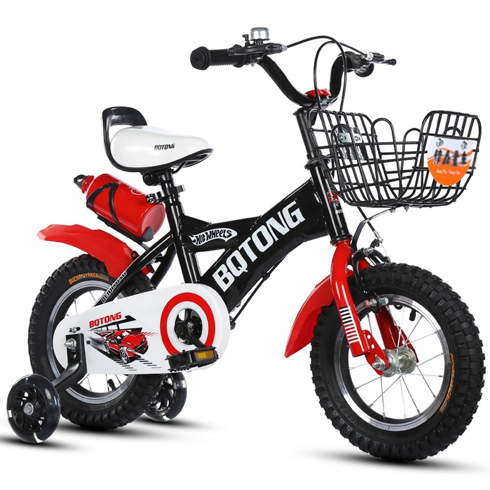 yxgh-子供の自転車赤ちゃんの自転車2 – 4-6 Years Old Cycling 12 – 14 – 16 – 18 inches Boys and Girls足ベビーカーwithケトル B07D1JBH2C 14
