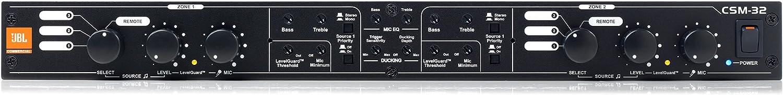 JBL Professional CSM-32 Commercial Series 3-input, 2-output Audio Mixer