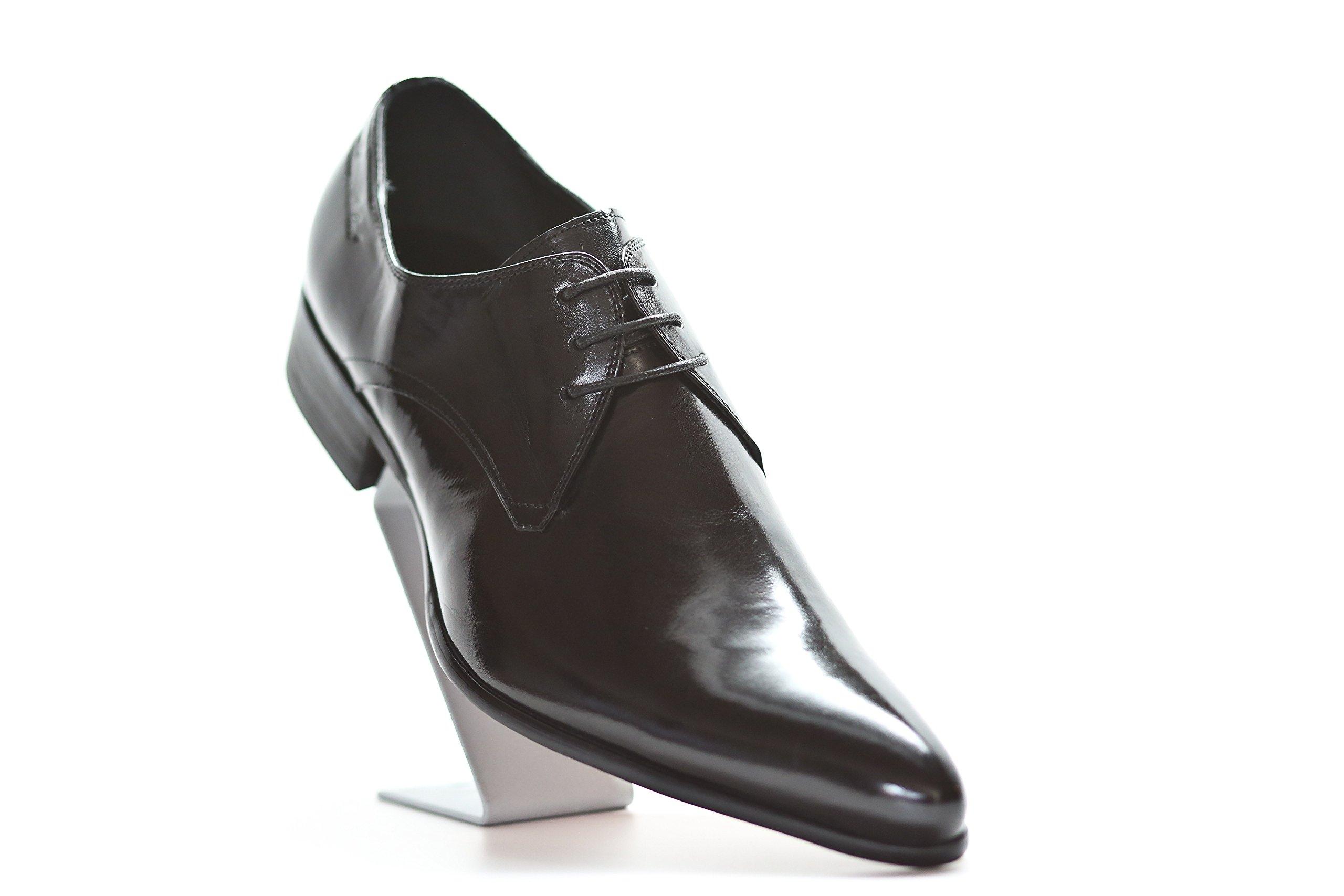 Liam Michael Men's Leather Pisces Shoe (13, Coffee) by Liam Michael Shoes
