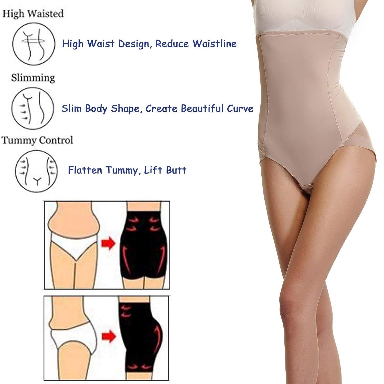 5cd9de82d4 Joyshaper High Waisted Knickers Women Tummy Control Slimming Butt Lifter  Panties Hip Enhancer Body Shaper Shapewear Mesh Waist Cincher Girdle Trimmer  ...