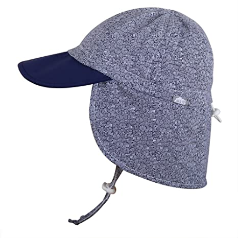 Baby Toddler Kids UPF 50 Sun Protection Adjustable Neck Flap Hat (Cap S  0  - 9m  Amazon.in  Baby d9a514b37f0