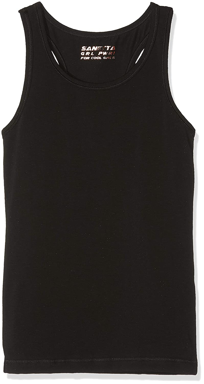 Sanetta Mädchen Unterhemd Shirt W/O Sleeves