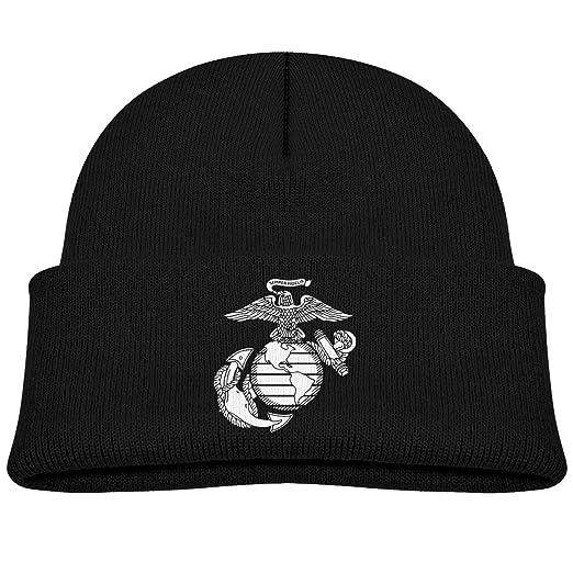 Amazon com: Eagle Globe Anchor USMC Marine Corps Unisex Baby Beanie