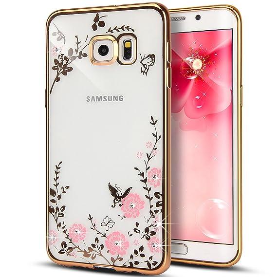Amazon.com: NSSTAR - Carcasa para Samsung Galaxy S6 Edge ...
