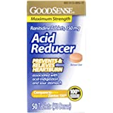 GoodSense Acid Reducer, Ranitidine Tablets, 150 mg
