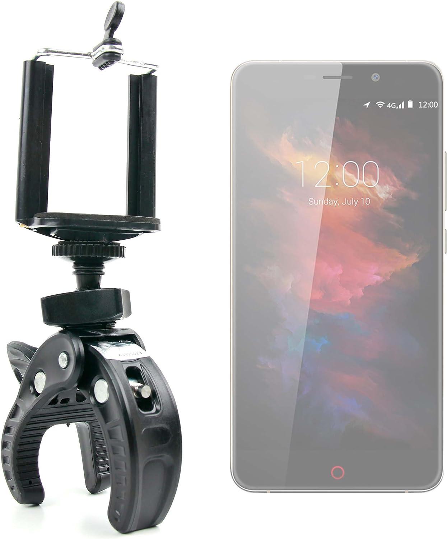 DURAGADGET Soporte Universal Tipo Pinza para Manillar de Bicicleta para Smartphone UMI MAX | Touch | Super | Motorola Moto X Play | ZTE Axon Mini | Blackberry Priv: Amazon.es: Electrónica