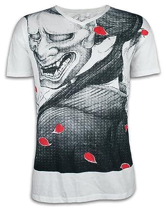 Ako Roshi Camiseta Hombre Diablo Blanco Talla M L XL Demonio Artes ...