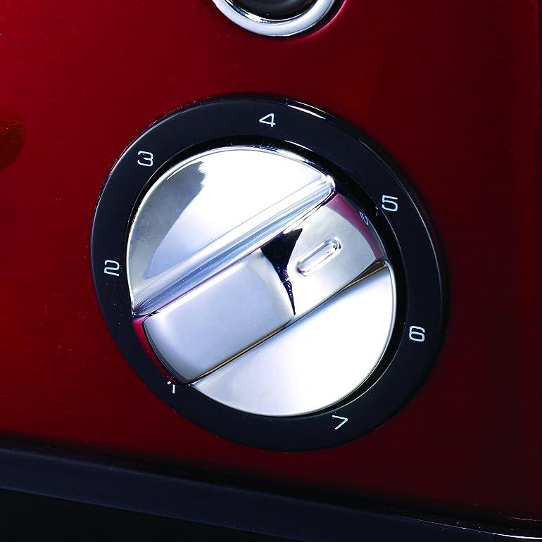 Morphy Richards Accents Toaster, 1800 Watt, Red: Amazon.co.uk ...