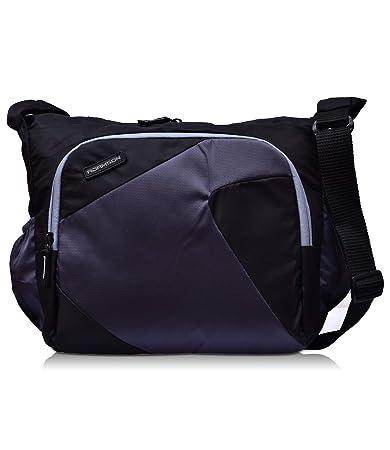 Adamson Unisex Imported Model Black Side Bag(ASB-076)