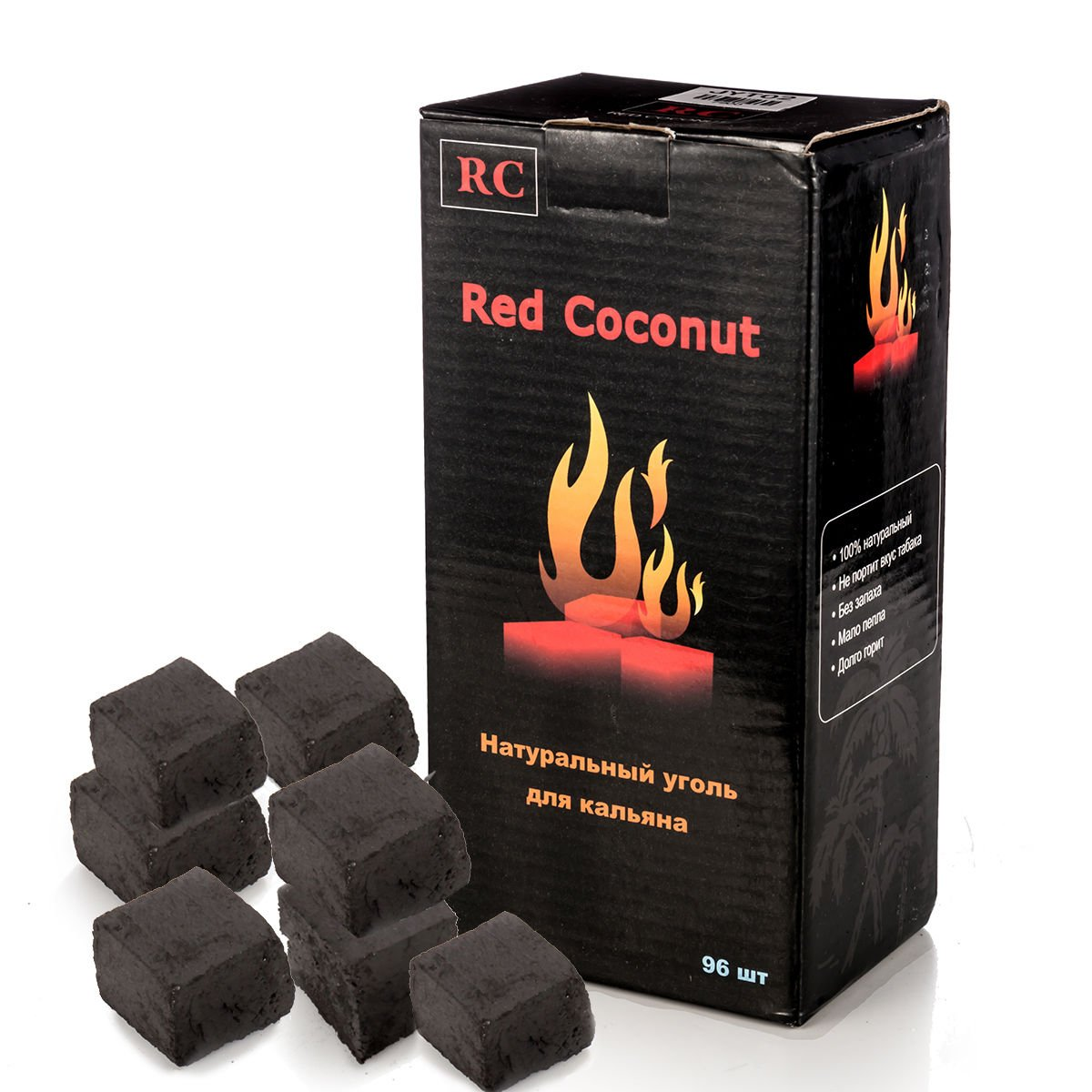 Kertou Premium di cocco carbone carbone per Shisha narghilè e BBQ