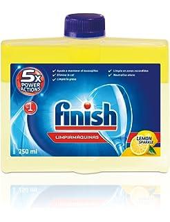 Finish Limpiamáquinas Líquido para Lavavajillas Limón - 250 ml