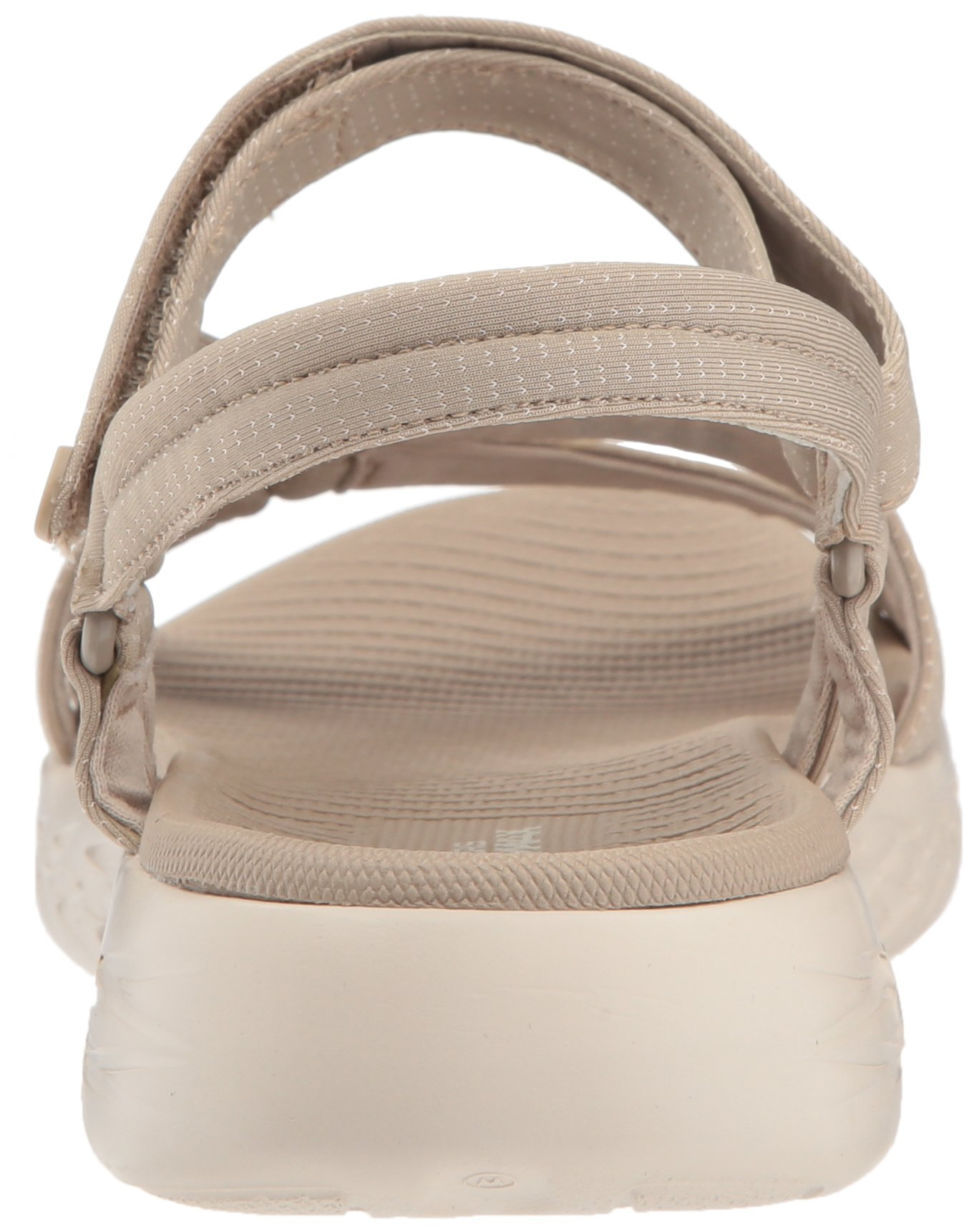 Skechers Performance Women's on-The-Go 600-Brilliancy Wide Sport Sandal,Natural,6 W US by Skechers (Image #2)