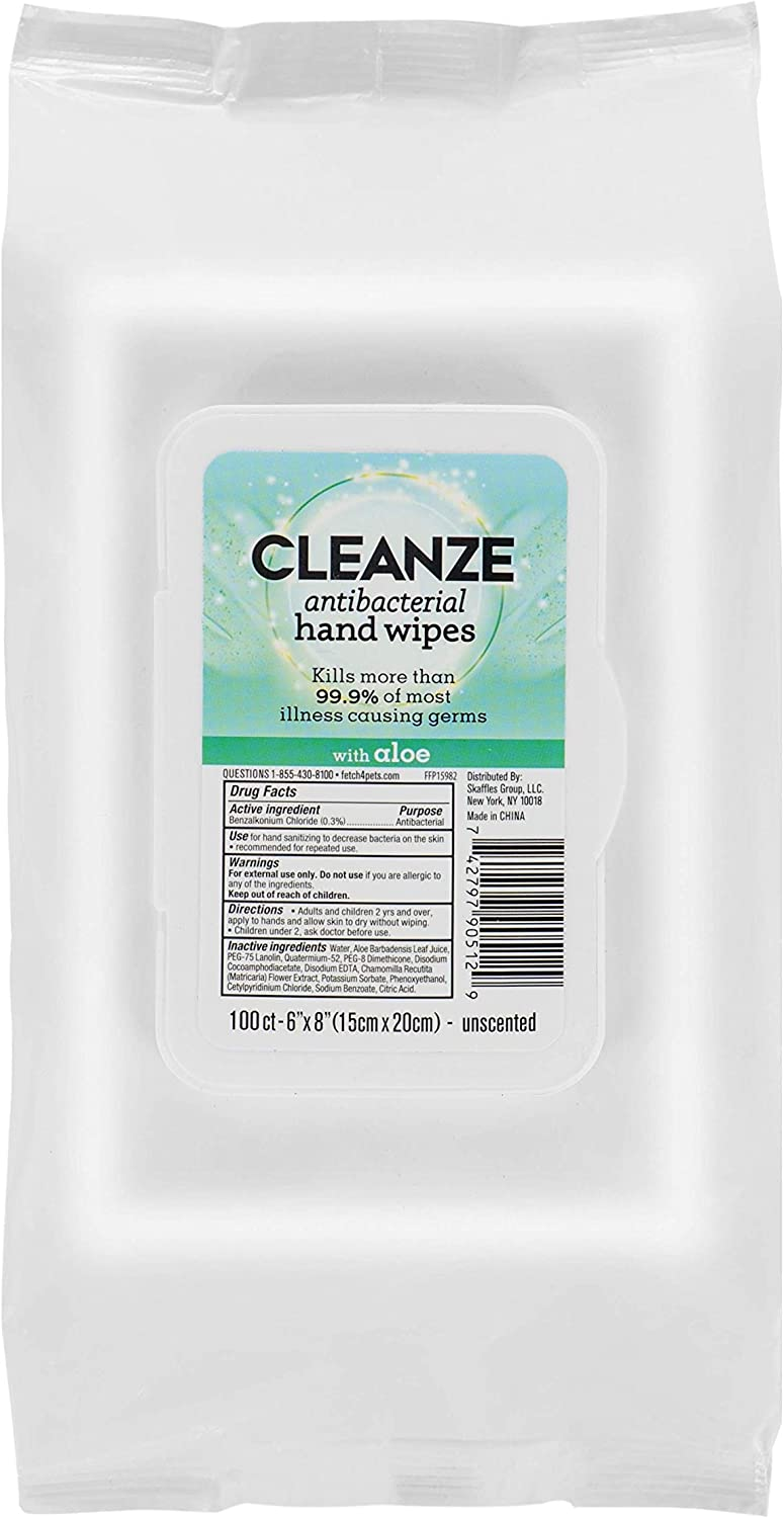 Cleanze Antibacterial Hand Ultra-Cheap Deals 5 ☆ very popular Sanitizing Count 100 Wip Wipes