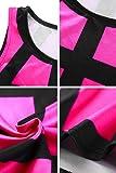 YMING Women's Plus Size Bodycon Dress Sleeveless