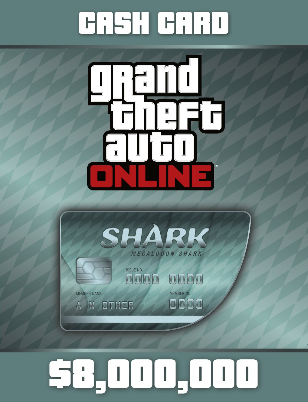 Grand Theft Auto V:Megalodon Shark Cash Card - PS4 [Digital Code]
