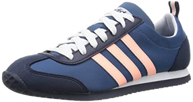adidas Neu DamenDamen Blau Neo Vs Joggen Turnschuhe blauRosa UK GRÖßEN 3.5 6