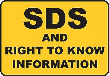 Etiqueta - Seguridad - Advertencia - SDS and Right To Know ...