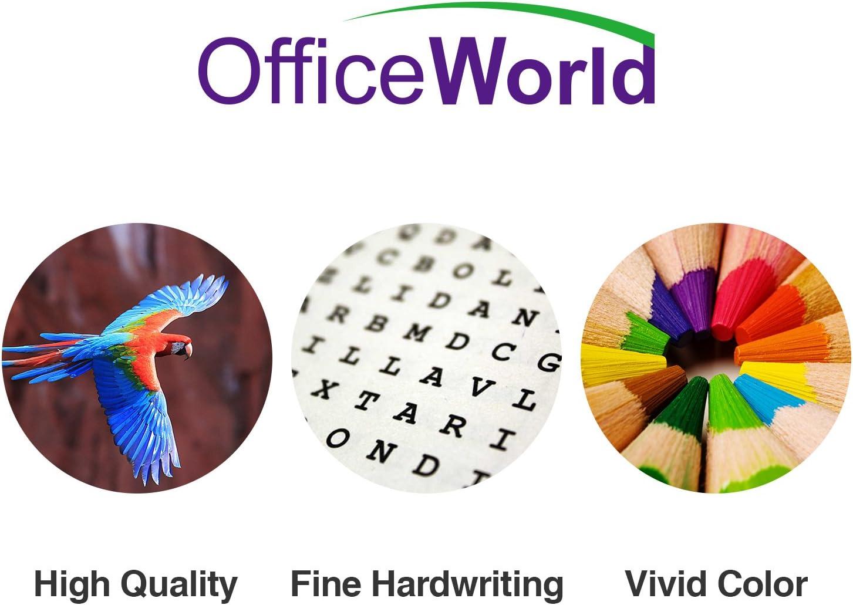 OfficeWorld 56 XL Remanufacturado HP 56 56XL Cartuchos de tinta 2 ...