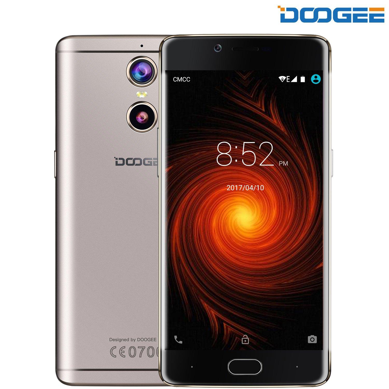 Android智能手机,DOOGEE拍摄1双卡手机 -  4G手机配5.5英寸FHD夏普屏幕 -  3300毫安手机配2GB内存+ 16GB ROM  -  8MP + 13MP相机 - 金
