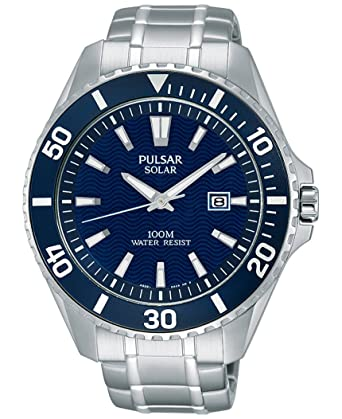 a1a0ae71c Image Unavailable. Image not available for. Color: Men's Pulsar Solar Sport  ...