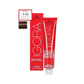 d84e8f5e8b Igora Royal 6-68 Func Blond Brown Red 60 ML: Amazon.co.uk: Beauty
