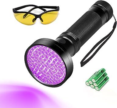 Seulement 100 DEL Lampe de poche Pet//chiens//chats Urine Détecteur 395 Presque comme neuf UV Lumière Noire