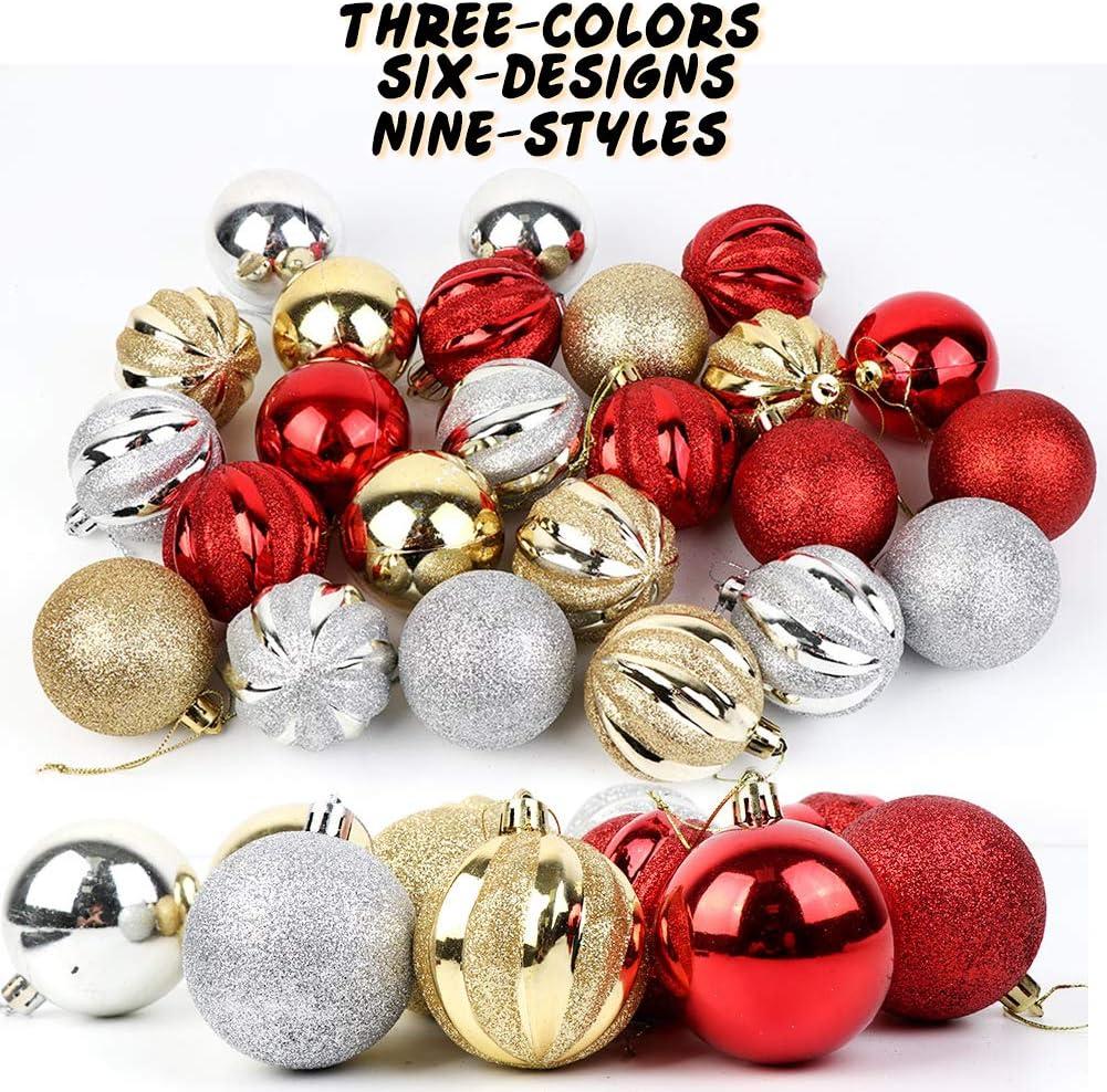 OurWarm Bolas de Navidad Adornos para árbol de Navidad ...