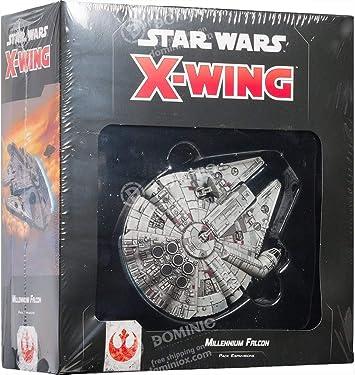 Asmodee- Star Wars X-Wing Milennium Falcon Expansión Juego de Mesa con magníficas miniaturas, Color 9962: Amazon.es: Juguetes y juegos