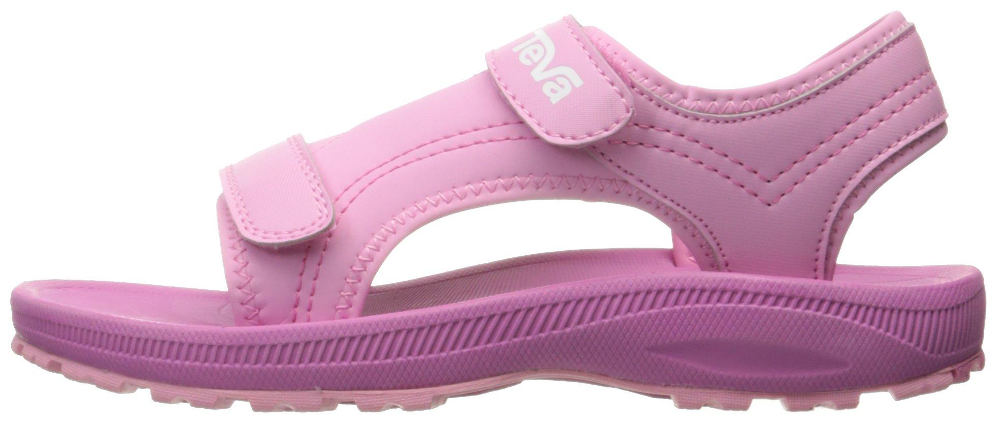Teva Girls' Psyclone 4 Sandal, Pink, 1 M US Little Kid by Teva (Image #5)