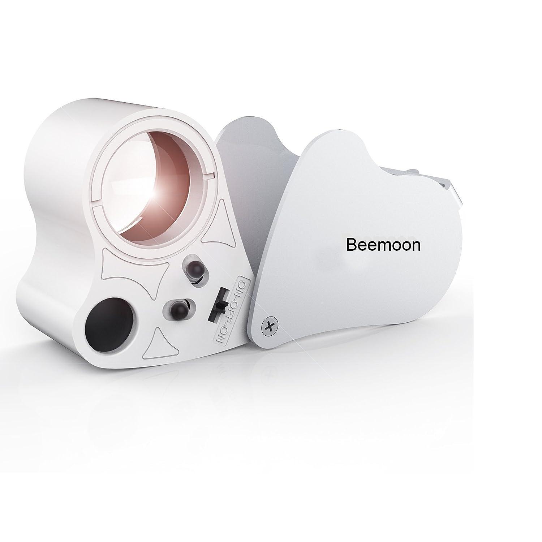 30 x 60 x Fach LED Juwelier Uhr Lupe Vergrößerungsglas Taschenlupe magnificador Lesehilfe faltbar: Amazon.es: Bricolaje y herramientas