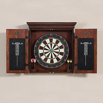 Amazon.com : American Heritage Billiards Cavalier Dart Board ...