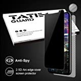 [Privacy Proof][Case Friendly] iPhone X, iPhone 10 Screen Protector, [Anti Spy] Tateguard iPhone X Tempered Glass Screen Protector [Easy Install] [Bubble Free] [Anti Scratch] with A Free Back Cover