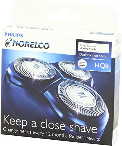 Philips HQ8 - 3 cuchillas para cabezal afeitadora.: Amazon.es ...